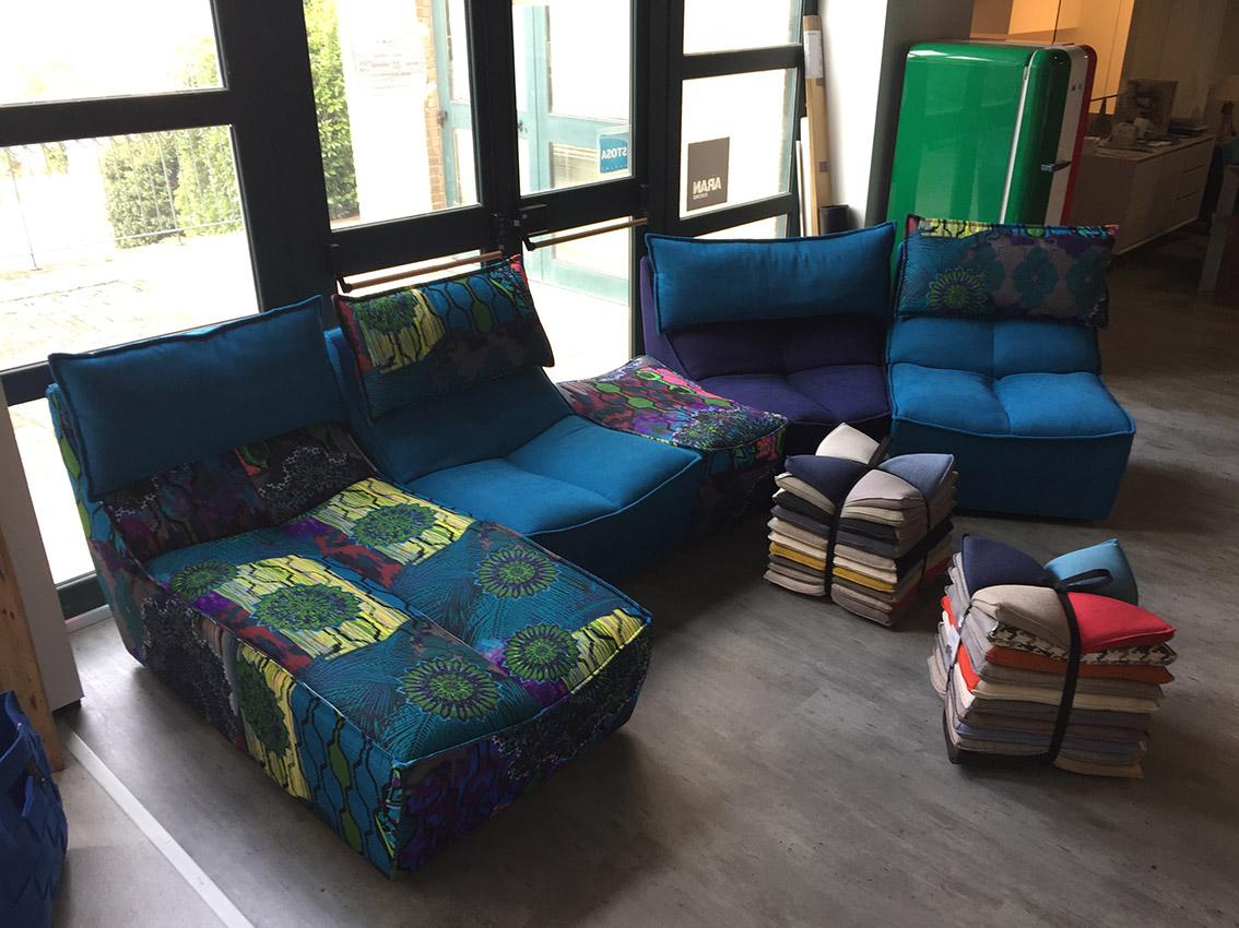 divano componibile HIP HOP di CALIA | Egizi Arredamenti
